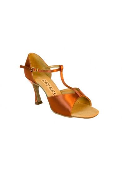 Ray Rose Обувь женская для латины 812 Snow Flake, Dark Tan Satin