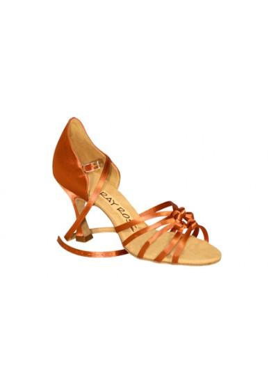 Ray Rose Обувь женская для латины 829 Cloudburst ULTRA-FLEX, Dark Tan Satin