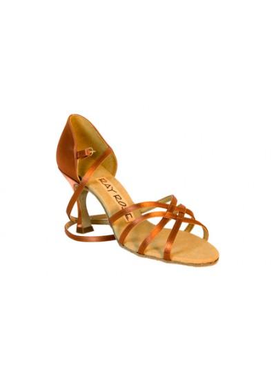 Ray Rose Обувь женская для латины 835 Monsoon, Dark Tan Satin