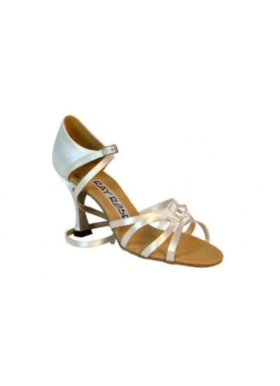 Ray Rose Обувь женская для латины 820 Blizzard ULTRA-FLEX, White Satin