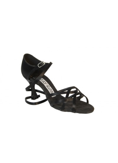 Ray Rose Обувь женская для латины 840 Gobi, Black Satin
