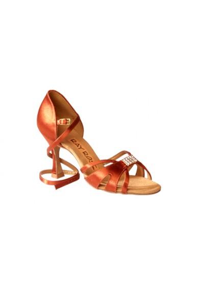 Ray Rose Обувь женская для латины 889 Tropic, Dark Tan Satin
