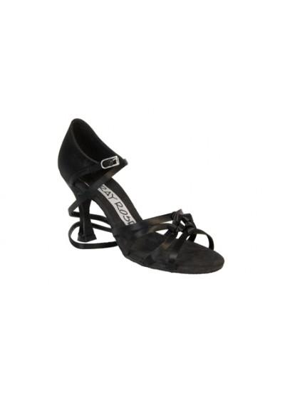 Ray Rose Обувь женская для латины 820 Blizzard ULTRA-FLEX, Black Satin