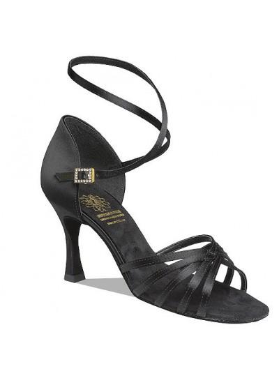 Supadance Обувь женская для латины 1403, Black Satin
