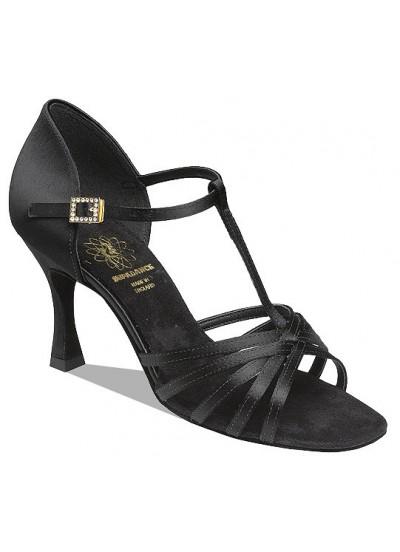 Supadance Обувь женская для латины 1401, Black Satin