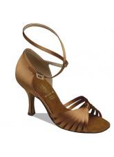 Supadance SALE Обувь женская для латины 1063, Dark Tan Satin