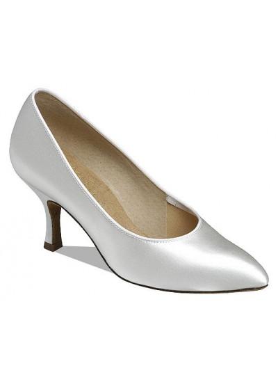 Supadance Обувь женская для стандарта 1003, White Satin
