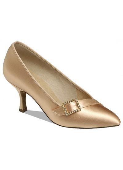 Supadance Обувь женская для стандарта 1023, Flesh Satin
