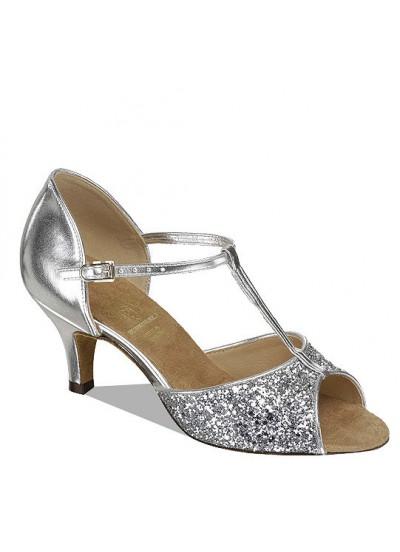 Supadance Обувь женская для латины 1029, Silver Satin