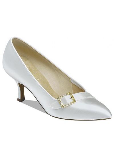 Supadance Обувь женская для стандарта 1023, White Satin