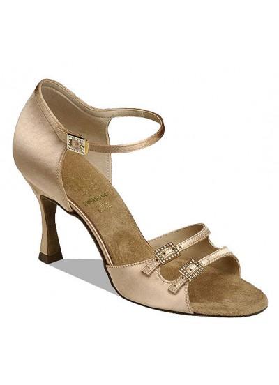 Supadance Обувь женская для латины 1616, Flesh Satin