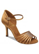 Supadance SALE Обувь женская для латины 1071, Dark Tan Satin