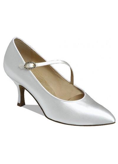 Supadance Обувь женская для стандарта 1004, White Satin