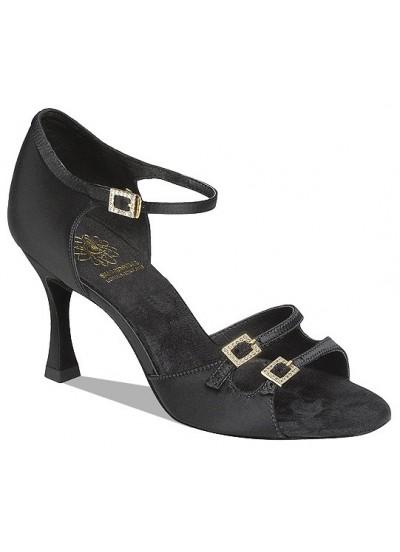 Supadance Обувь женская для латины 1616, Black Satin