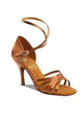 Supadance Обувь женская для латины 1143, Dark Tan Satin