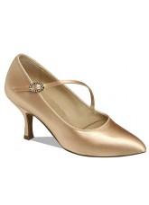 Supadance Обувь женская для стандарта 1004, Flesh Satin