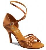 Supadance Обувь женская для латины 1178, Dark Tan Satin