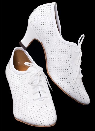 Supadance Обувь женская для тренировок 1025, White Leather