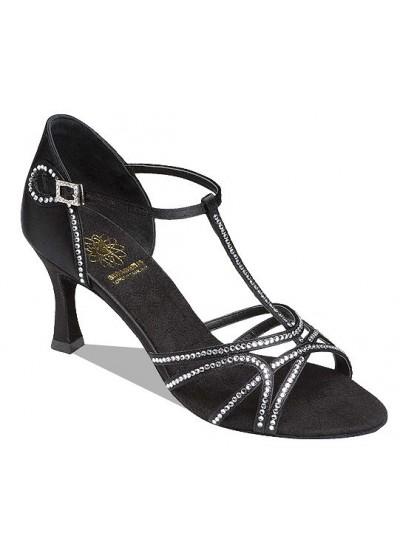Supadance Обувь женская для латины 1540, Black Satin