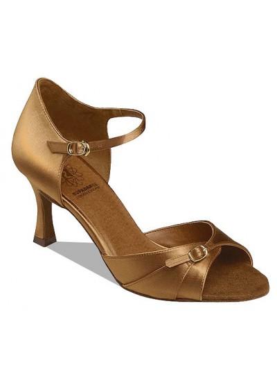 Supadance Обувь женская для латины 7843, Dark Tan Satin