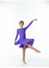 Dance Me Рейтинговые платья / Бейсик BS514, черничный