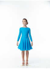 Dance Me Рейтинговые платья / Бейсик BS514DR#, лазуревый