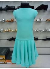 Рейтинговое платье BS509# DANCEME, бифлекс матовый, мятный