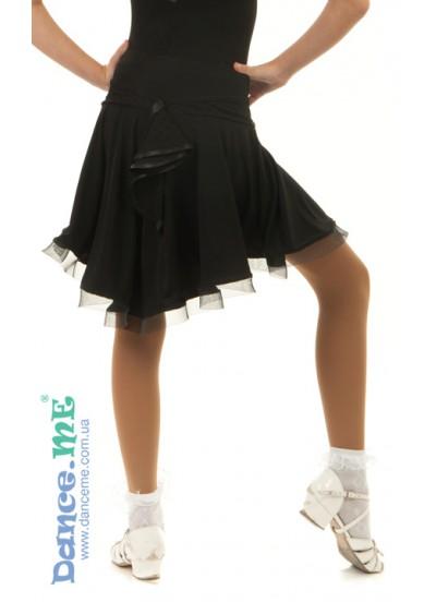 Детская юбка для латины Dance Me ЮЛ394-6