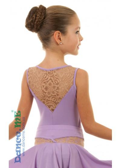 Детская блуза для бально-спортивного танца Dance Me БЛ398-8-11
